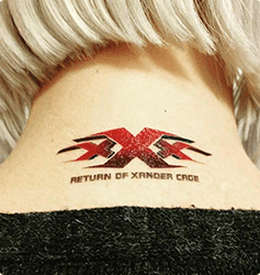 Midlertidige tatoveringer