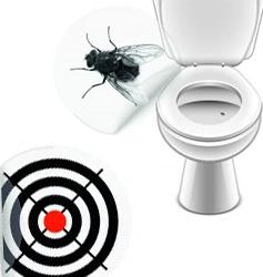 Toalett klistremerker